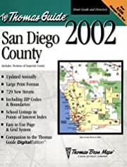 Thomas Guide 2002 San Diego County Including…
