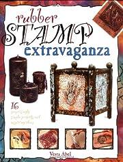 Rubber stamp extravaganza por Vesta Abel