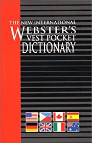Vest Pocket Dictionary, The New…