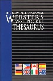 Vest Pocket Thesaurus, The New International…