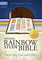 NIV Rainbow Study Bible, Brown/Lavender…