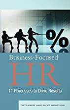 Business-Focused HR: 11 Processes to Drive…