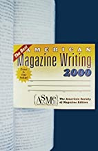 The Best American Magazine Writing 2000 by…