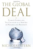 The Global Deal: Climate Change and the…