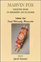 Collected Essays on Philosophy and Judaism,…