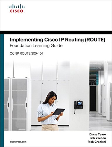 Diane teare's implementing cisco ip routing (route). Foundation.