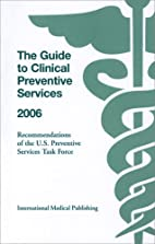 The Guide to Clinical Preventive Services…