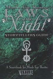 Laws of The Night Vampire Storyteller Guide:…