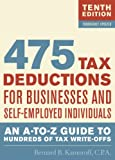475 Tax Deductions for Businesses and…