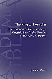 The King As Exemplar: The Function of…