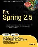 couverture du livre Pro Spring 2.5