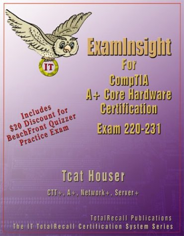 كتاب مهم في داماس فقط: ExamInsight For CompTIA A+ Core Hardware Exam