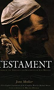Testament: Memoir of the Thoughts and…