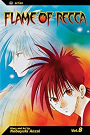 Flame of Recca, Vol. 8 – tekijä: Nobuyuki…