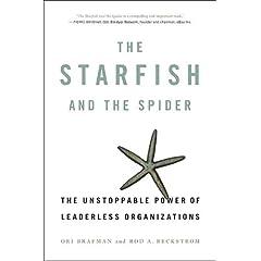 starfish and spider