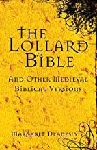 The Lollard Bible and other medieval…