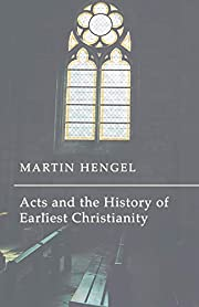 Acts and the History of Earliest…