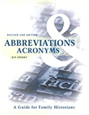 Abbreviations & Acronyms: Guide for Family…