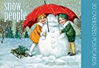 Snow People: 30 Oversized Postcards by…