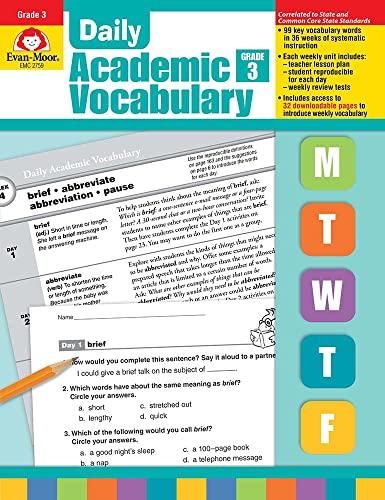 PDF] Daily Academic Vocabulary, Grade 3 | Free eBooks Download