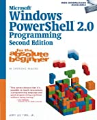 Microsoft Windows PowerShell 2.0 Programming…