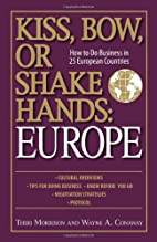 Kiss, Bow, Or Shake Hands Europe: How to Do…