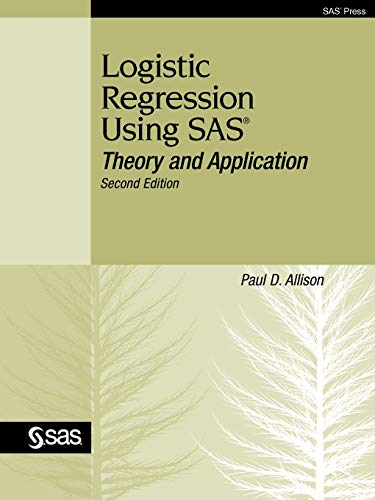 PDF] Logistic Regression Using SAS: Theory and Application