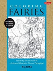 Coloring Fairies: Featuring the artwork of…