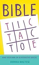 Bible Tic-Tac-Toe (Bible Trivia (Working…