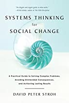 Systems Thinking For Social Change: A…