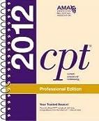 CPT Professional 2012 (Spiralbound) (Current…