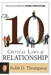 The 10 Critical Laws of Relationship av Robb…