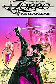 Zorro: Matanzas de Don McGregor
