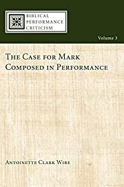 The case for Mark composed in performance…