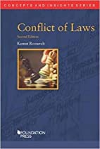 Conflict of Laws (Concepts and Insights) by…