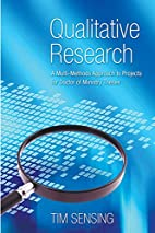 Qualitative Research: A Multi-Methods…