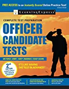 Officer Candidate Tests by LearningExpress…