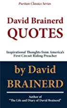 David Brainerd Quotes: Inspirational…