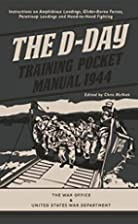 The D-Day Training Pocket Manual 1944 by…