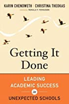Getting It Done: Leading Academic Success in…
