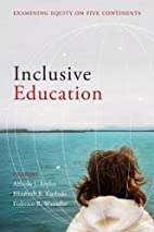 Inclusive Education: Examining Equity on…