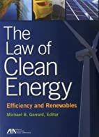 The Law of Clean Energy: Efficiency and…