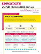 Educator's Quick Reference Guide to…