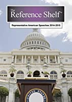 Representative American Speeches, 2014-2015…