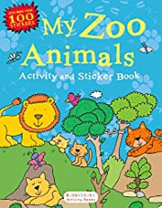 My Zoo Animals Activity and Sticker Book…