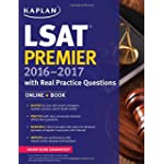 Kaplan LSAT Premier 2016-2017 with Real Practice Questions: Book + Online (Kaplan Test Prep)