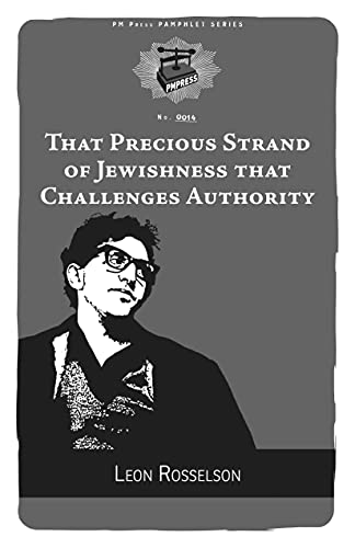 Image for That Precious Strand of Jewishness That Challenges Authority (PM Pamphlet)