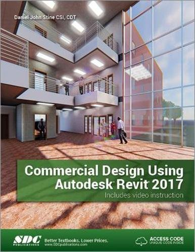 PDF] Commercial Design Using Autodesk Revit 2017 | Free