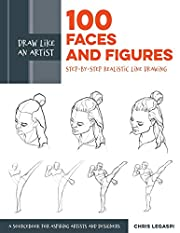 Draw Like an Artist: 100 Faces and Figures:…