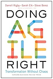 Doing Agile Right: Transformation Without…